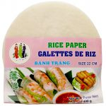 Rice Paper Round 22 cm Thumbnail
