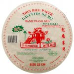 Rice Paper Thin Round 22 cm Thumbnail