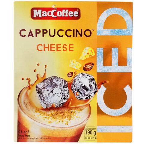 Mac Coffee Cappuccino Cheese Coffee