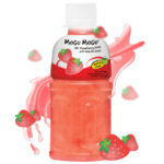 Strawberry Juice Drink With Nata De Coco Thumbnail