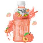 Peach Juice Drink With Nata De Coco Thumbnail