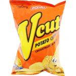 V Cut Potato Chips Spicy Bbq Thumbnail